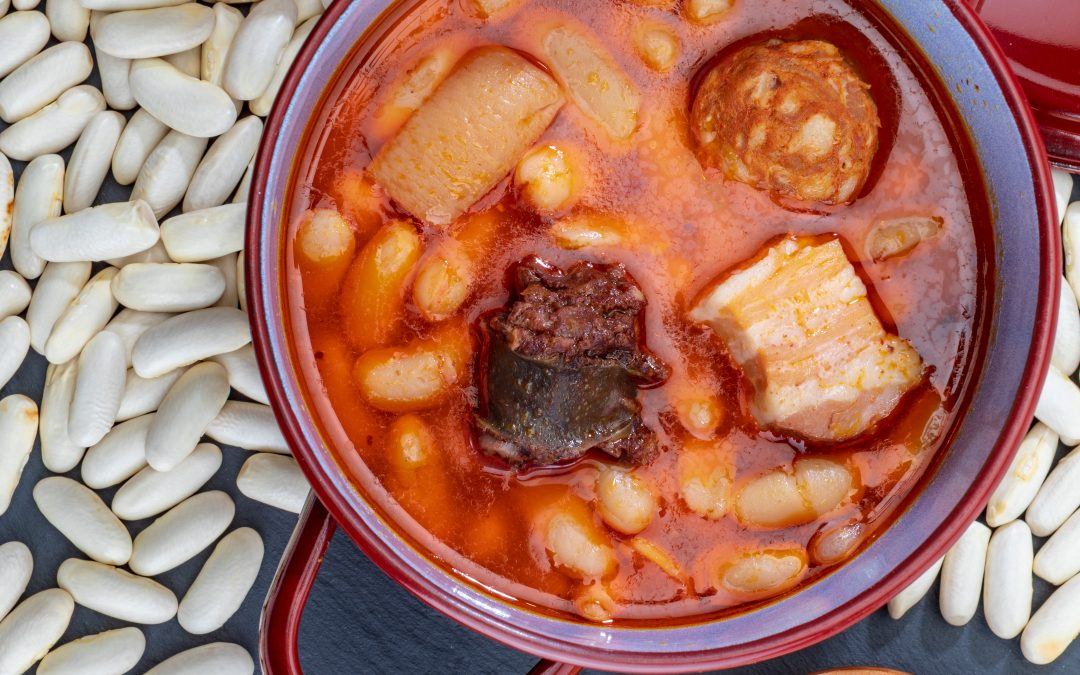 BEANS WITH CHORIZO LOZA